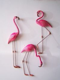 pink flamingo wall art - Google Search | Pink Flamingos ...