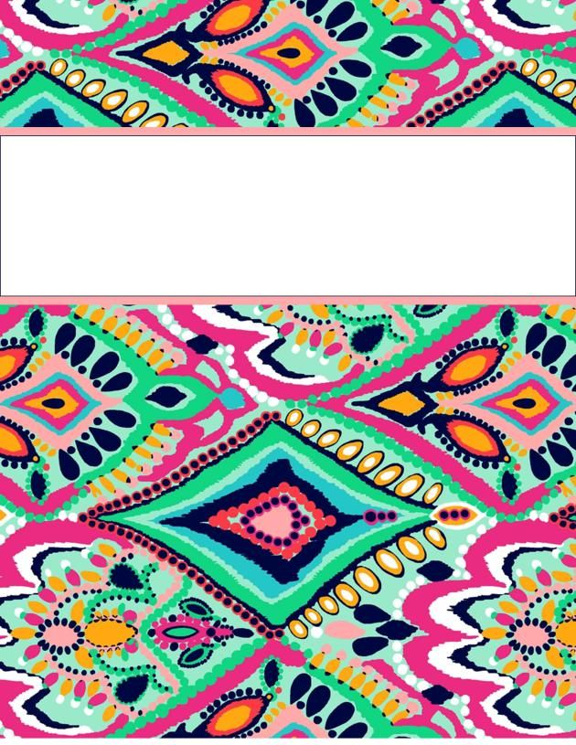 Cute Binder Covers Printable. 7 Free Binder Cover Templates Excel