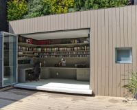 Foxy Garage Office Designs : Foxy Contemporary And ...