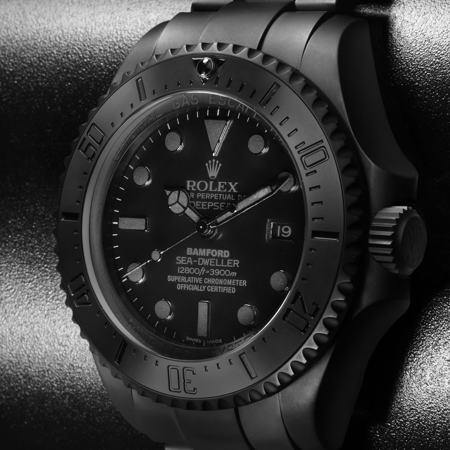 Black Rolex Bamford Watch Department Customised Luxury Watches