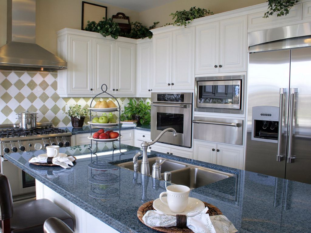 Blue Countertops White Cabinets Blue Granite Countertops White Cabinets Blue Pearl