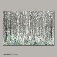 Graham & Brown Blue Watercolour Woods Canvas Wallart ...