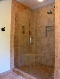 shower doorless tile | Amazing Shower Ideas For Small ...
