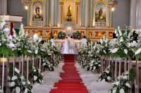 Image result for catholic church wedding decorations ...