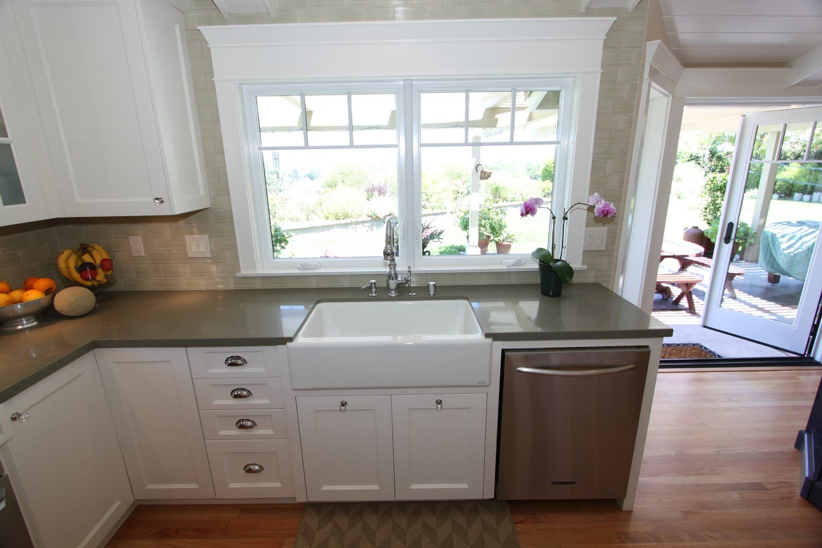 Blue Countertops White Cabinets Another Project Where I Specified Caeserstone Here We