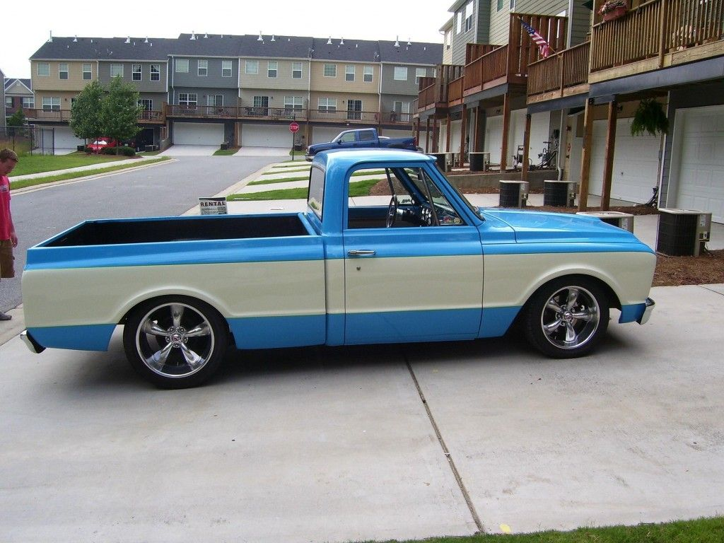 Baby Truck Baby Blue Chevy C10 67 72 Pickup Pinterest 72 Chevy