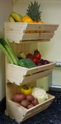 Fruit and vegetable storage ideas | Vegetable storage ...