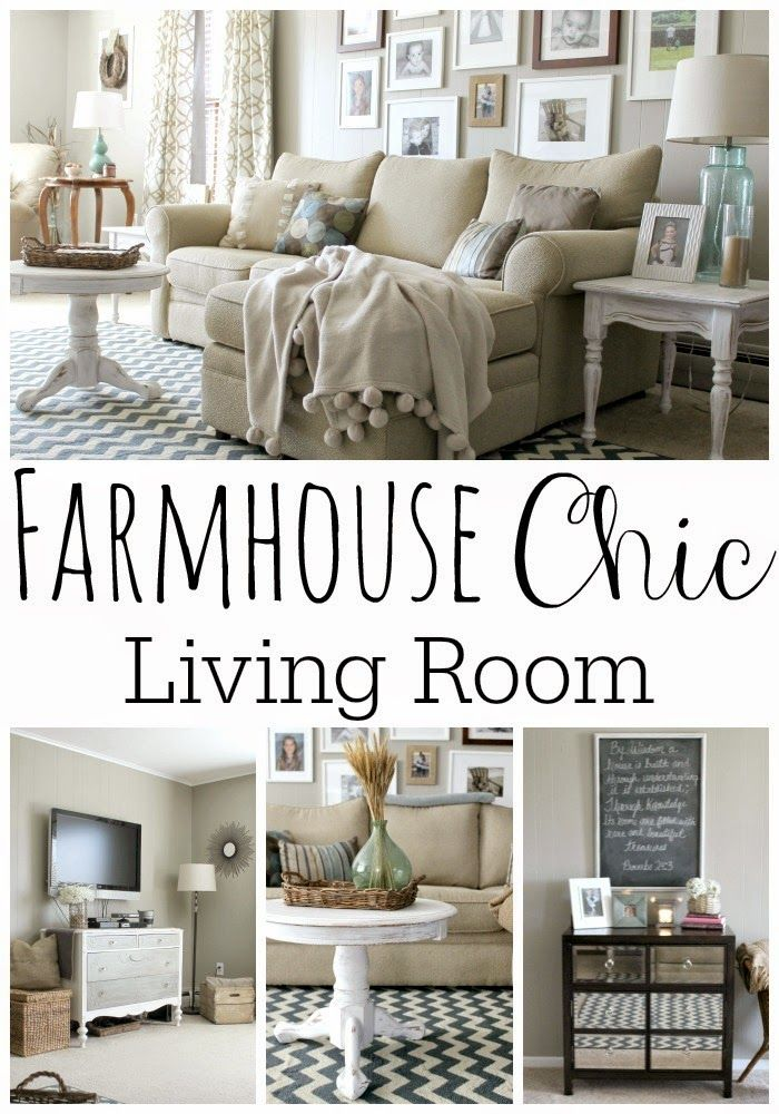 Grace Lee Cottage Our Living Room That DIY Party Highlights - farmhouse living room furniture
