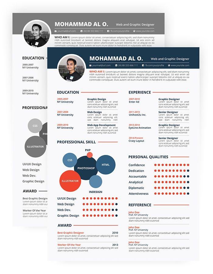 30 Free \ Beautiful Resume Templates To Download Resume - free resume layouts