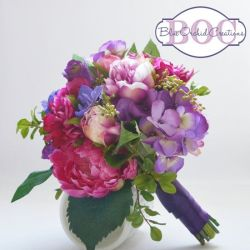 This Bouquet Is Packed Full of Beautiful Pieces Purple Hydrangea