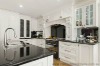 French Provincial Kitchen | Harrington Kitchens | oven ...