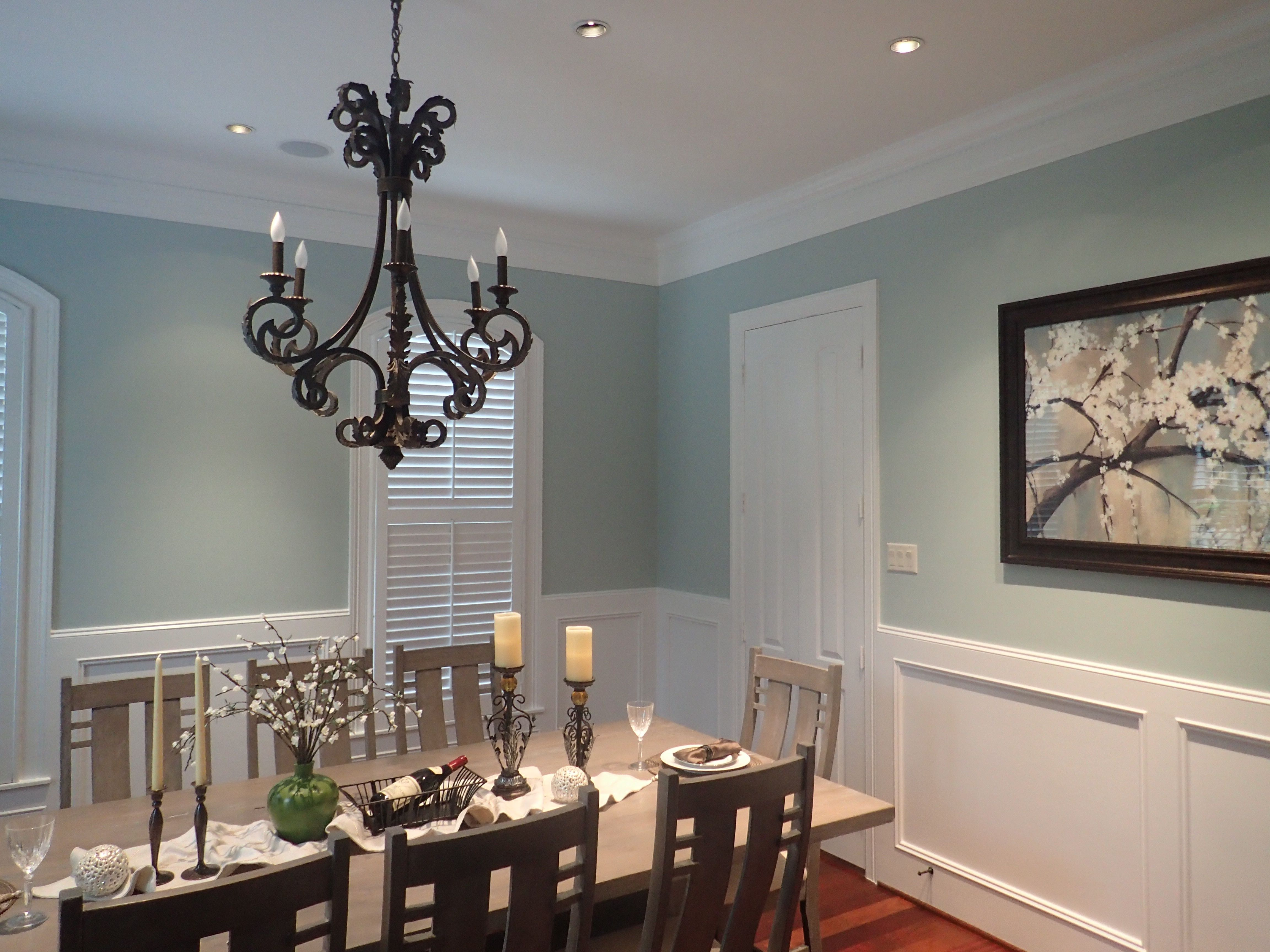 Dining Room Ideas In Blue Dining Room Sherwin Williams Copen Blue For The Home