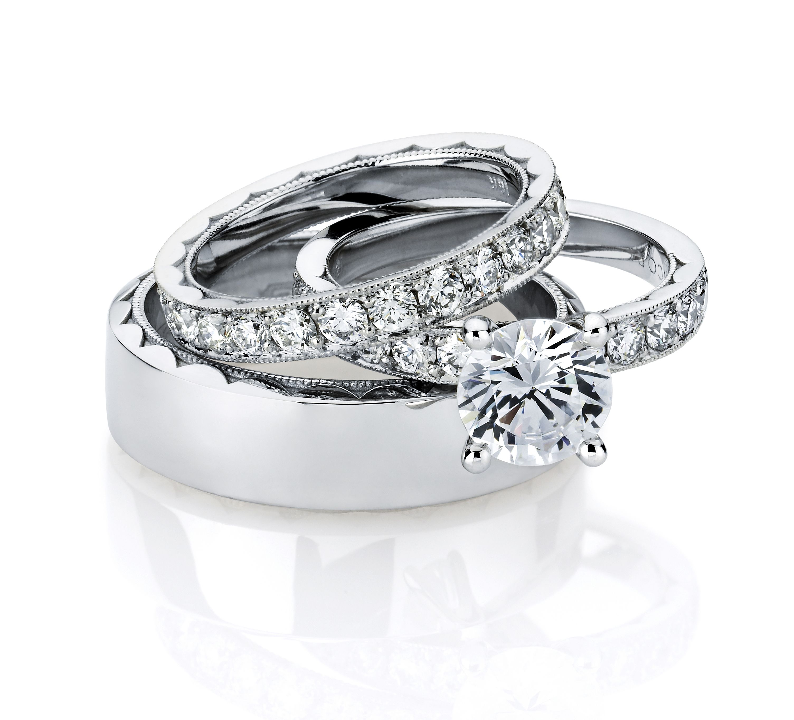 wedding ring set his hers 1000 images download - His And Hers Wedding Rings Cheap