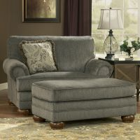 Parcal Estates - Basil Chair and a Half and Ottoman by ...