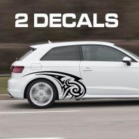 Tribal Design Car Door Decal Sticker | Car Door Fender ...