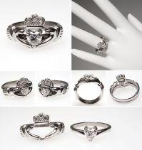 I want, I want, I WANT! Irish Claddagh Heart Diamond ...