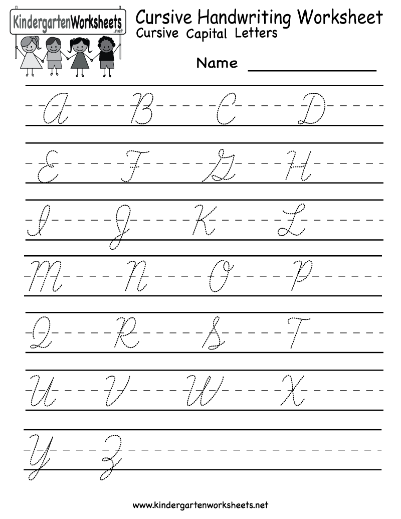 Du0027nealian Cursive Handwriting Worksheet Maker d u0027nealian – Free Handwriting Worksheet Maker