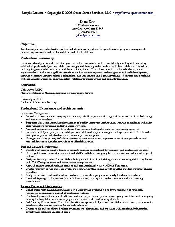 Sample Resume For College Student - http\/\/wwwjobresumewebsite - best resume format for nurses