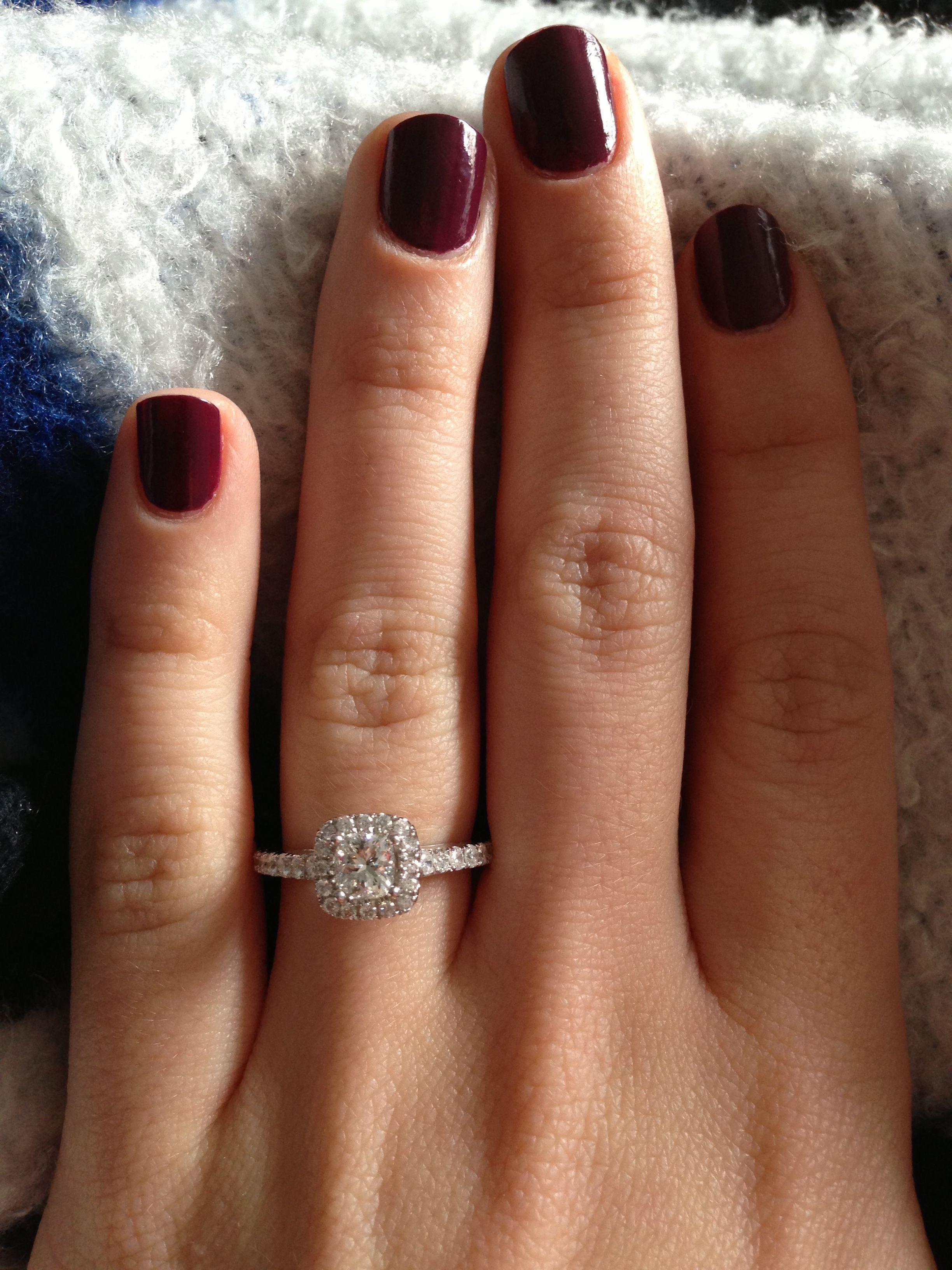 zales wedding rings sets My engagement ring Vera Wang by Zales