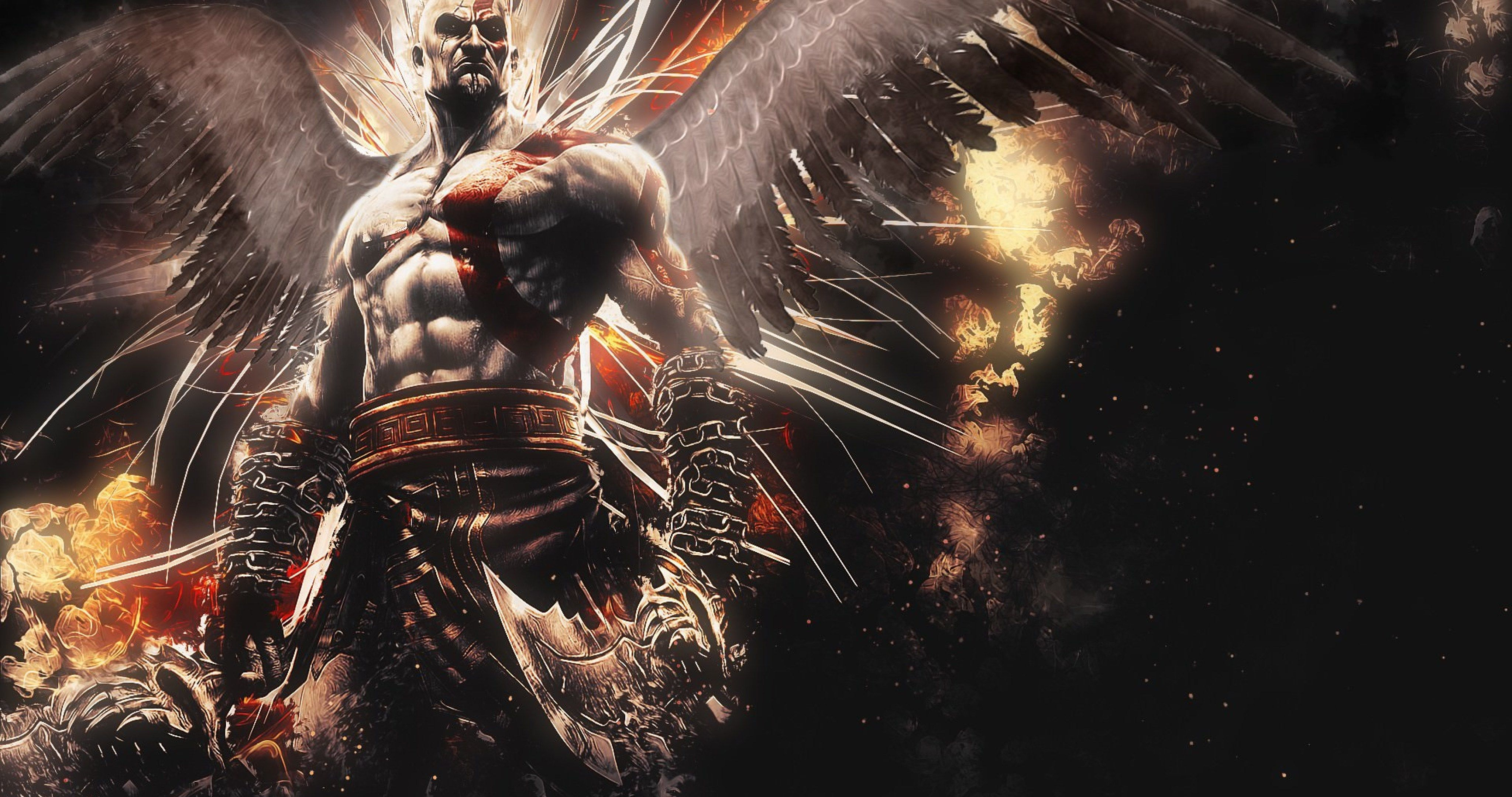 Fnatic Wallpaper Iphone God Of War Ascension Video Game 4k Ultra Hd Wallpaper