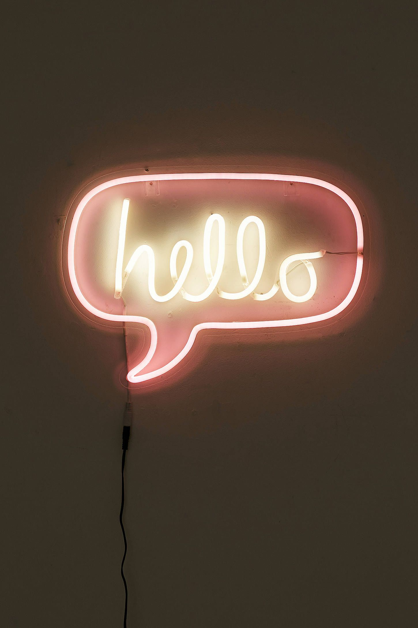 Neon Schriftzug Hello Neon Sign Neon Neon Lighting And Wallpaper