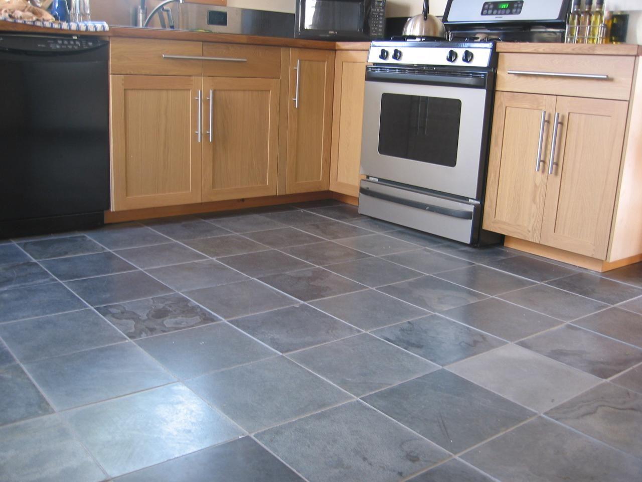 tile floors kitchen tiles floor Dark Kitchen Floor Tiles Designs