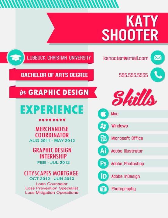 Resume Design Layout