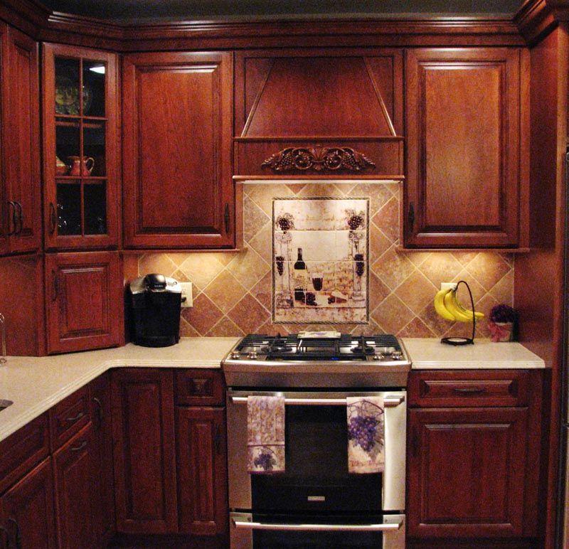 wine decor Kitchen Wine Pictured Backsplash Retro Wine Kitchen - wine themed kitchen ideas