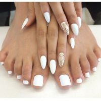 Wedding Toe Nails Ideas