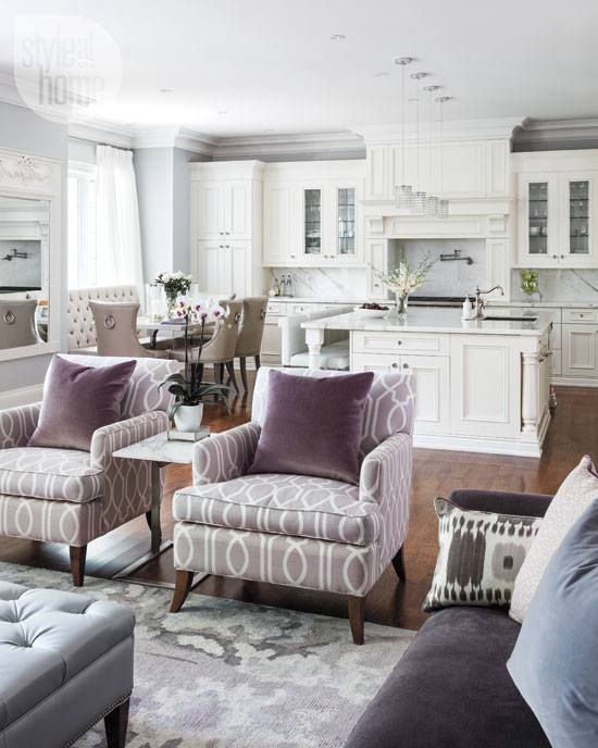 3 Decorating Ideas  Sometimes Itu0027s The Little Things Open - open concept living room