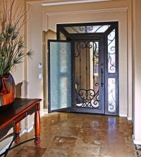 Iron Entry Door by First Impression Security Doors modern ...