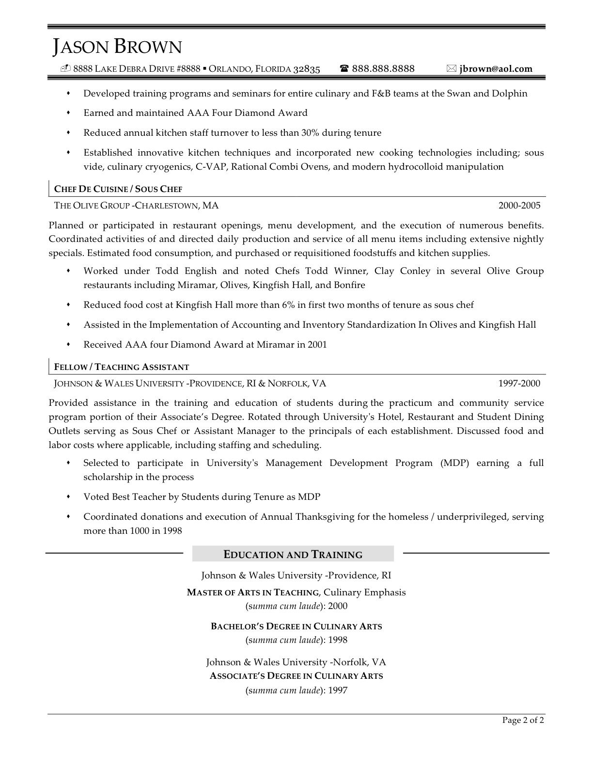sample resume apprentice chef resume templates sample resume apprentice chef sample resume chef resume it training and consulting chef resume objective and