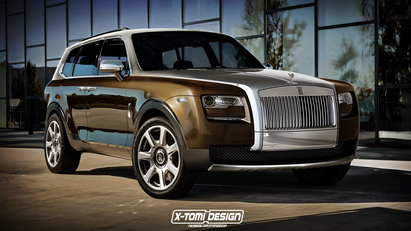 Would you buy rolls royce s cullinan suv if it looked like this