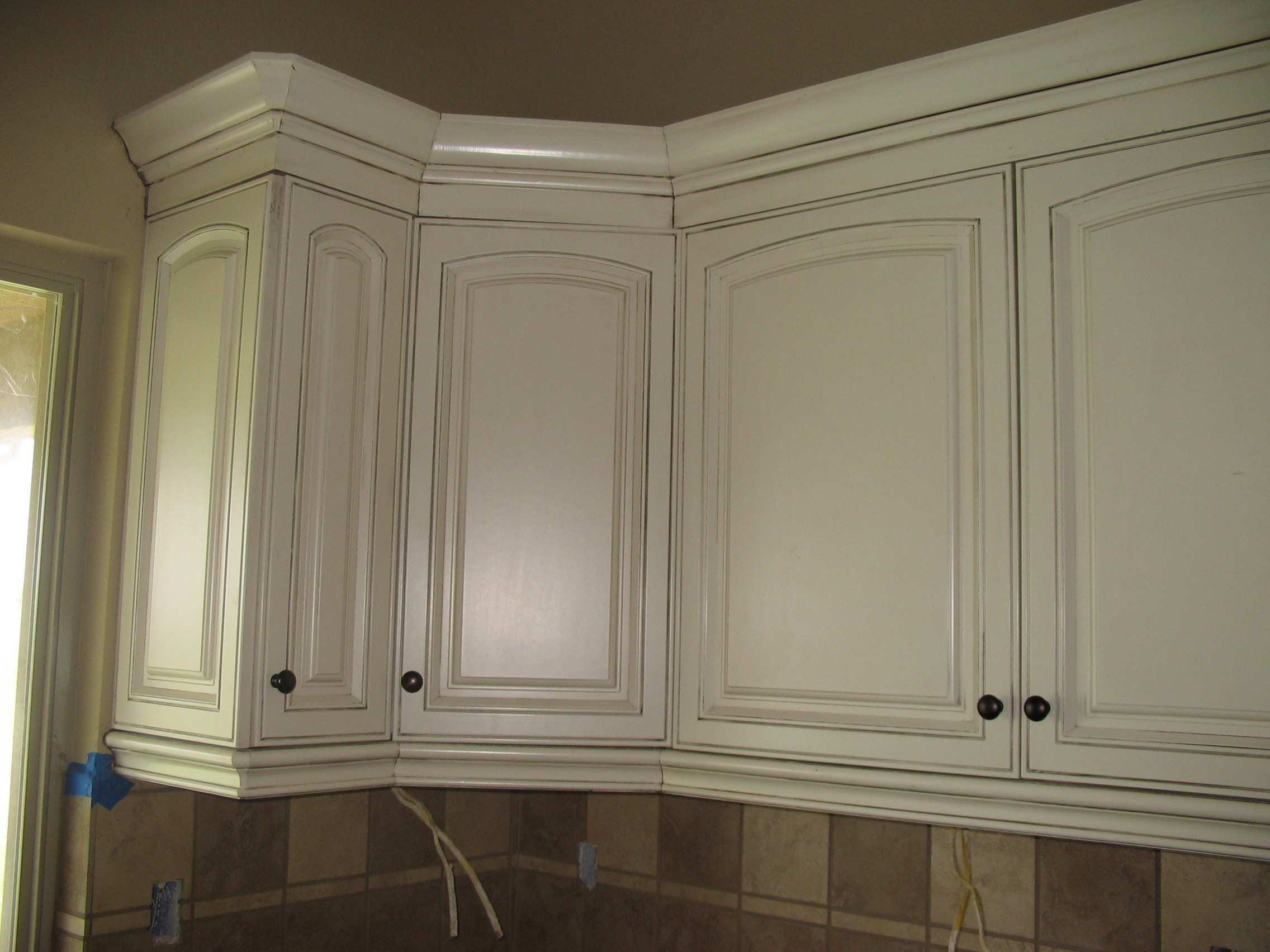 images of cabinets stained white