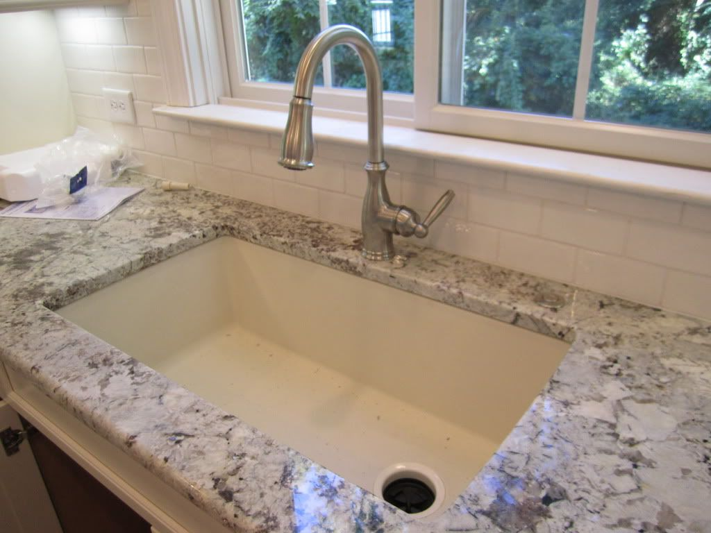 Blanco Farmhouse Sink Reviews Sink Blanco Silgranit In Biscuit With Offset Drain