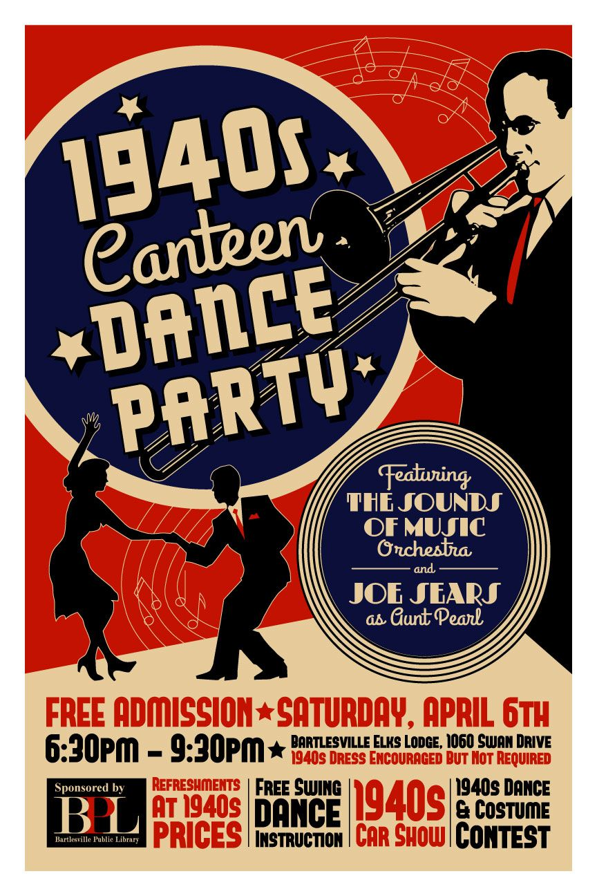 1940s dance poster google search
