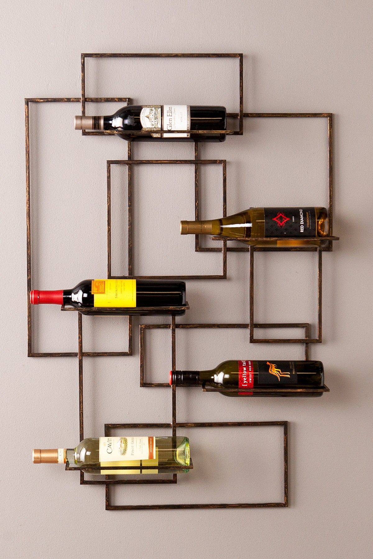 Modern Wine Rack Wall Mount Cool Wall Decor Valier Wall Mount Wine Sculpture On