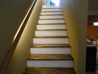 How Do You Finish Basement Stairs | up stairs | Pinterest ...