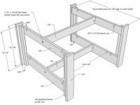 Coffee Table Plan Drawing | Furniture | Pinterest | Coffee ...