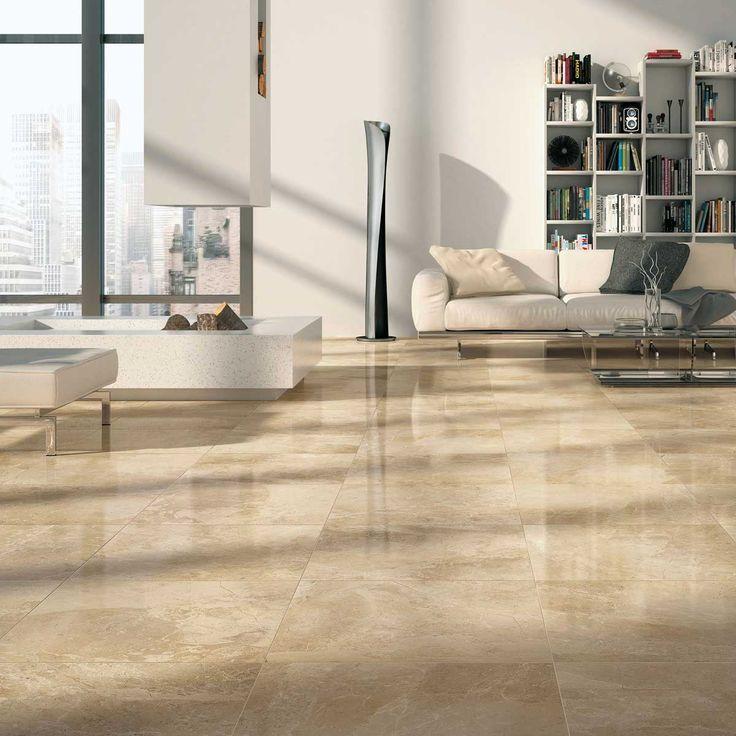 cream Crema Beige Marble granite living room floor tile UK