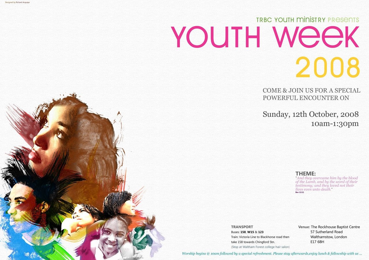 Youth poster google search