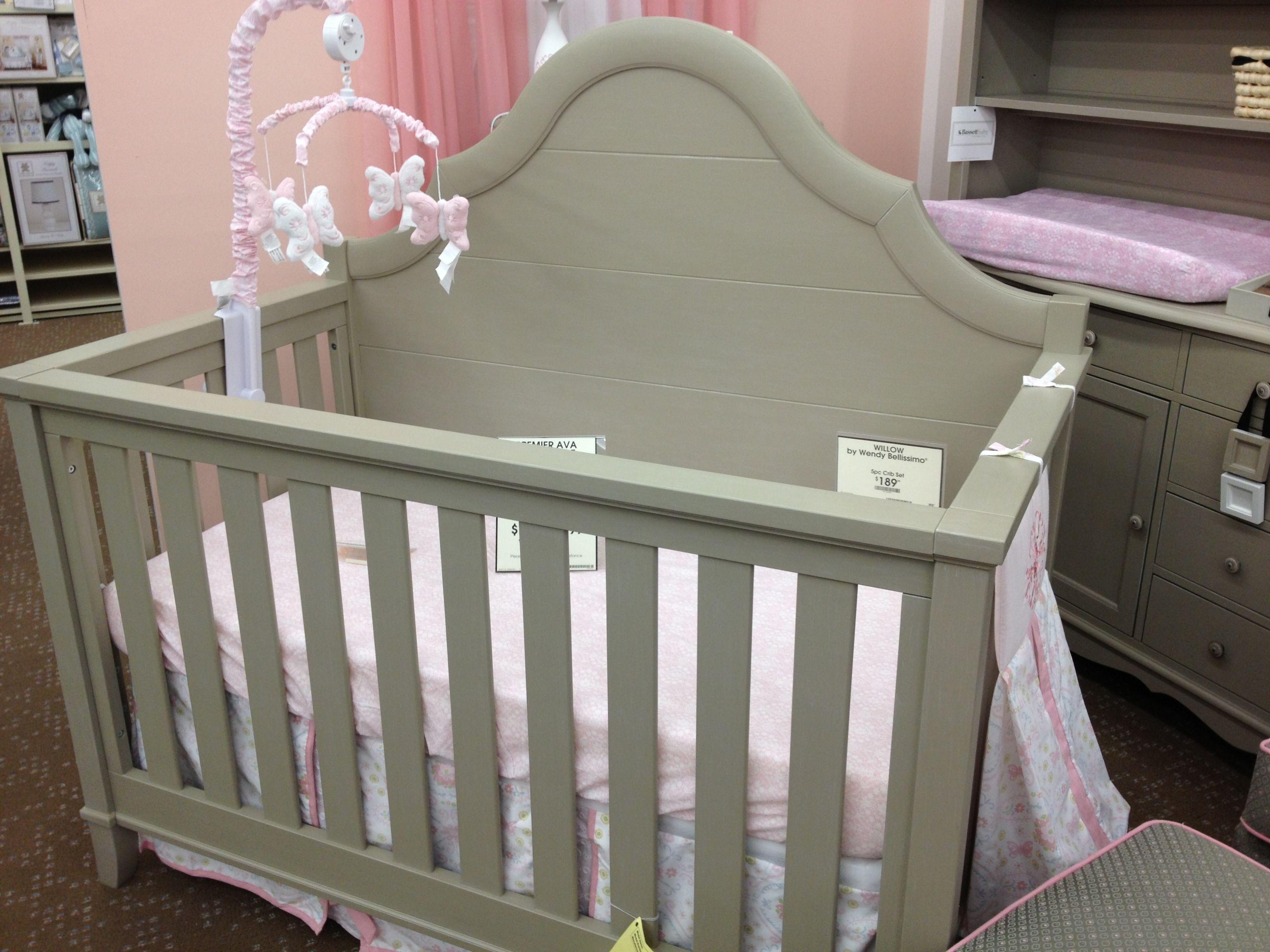 Gray convertible crib buy buy baby