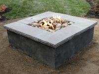 DIY Concrete Propane Fire Pit | Fire Pits | Pinterest ...