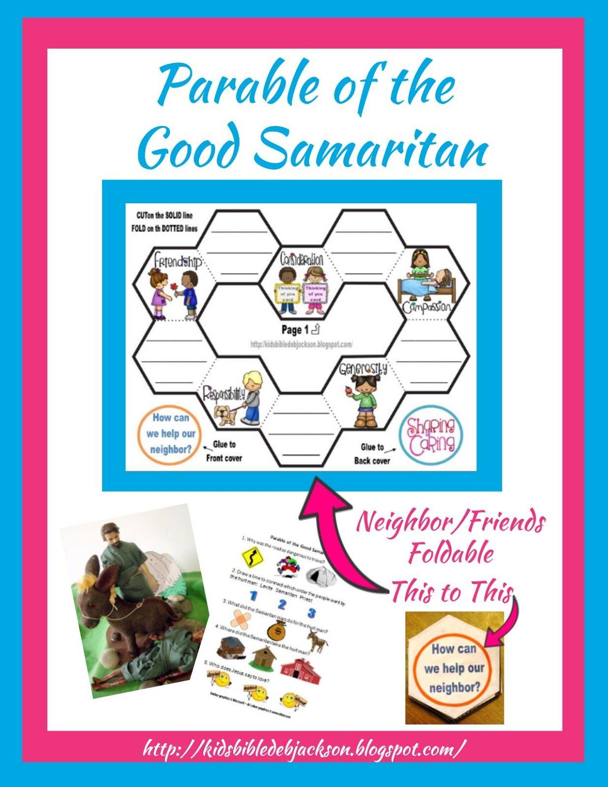 Good samaritan sunday school craft - Childrens Sunday School Crafts Bible Fun For Kids Parable Of The Good Samaritan Download