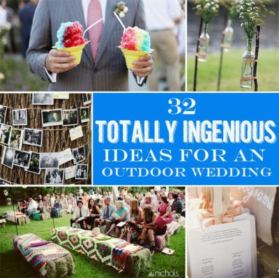 We do so many weddings outdoors, here are a few ideas to ...