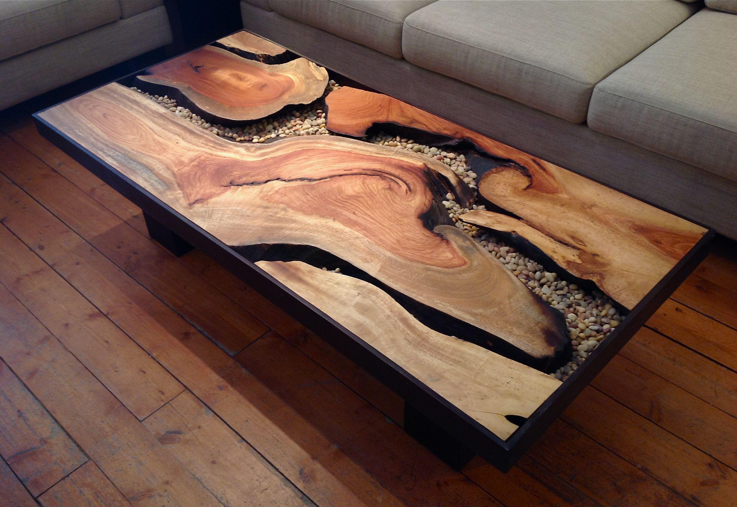 Tree root coffee table sequoia santa fe