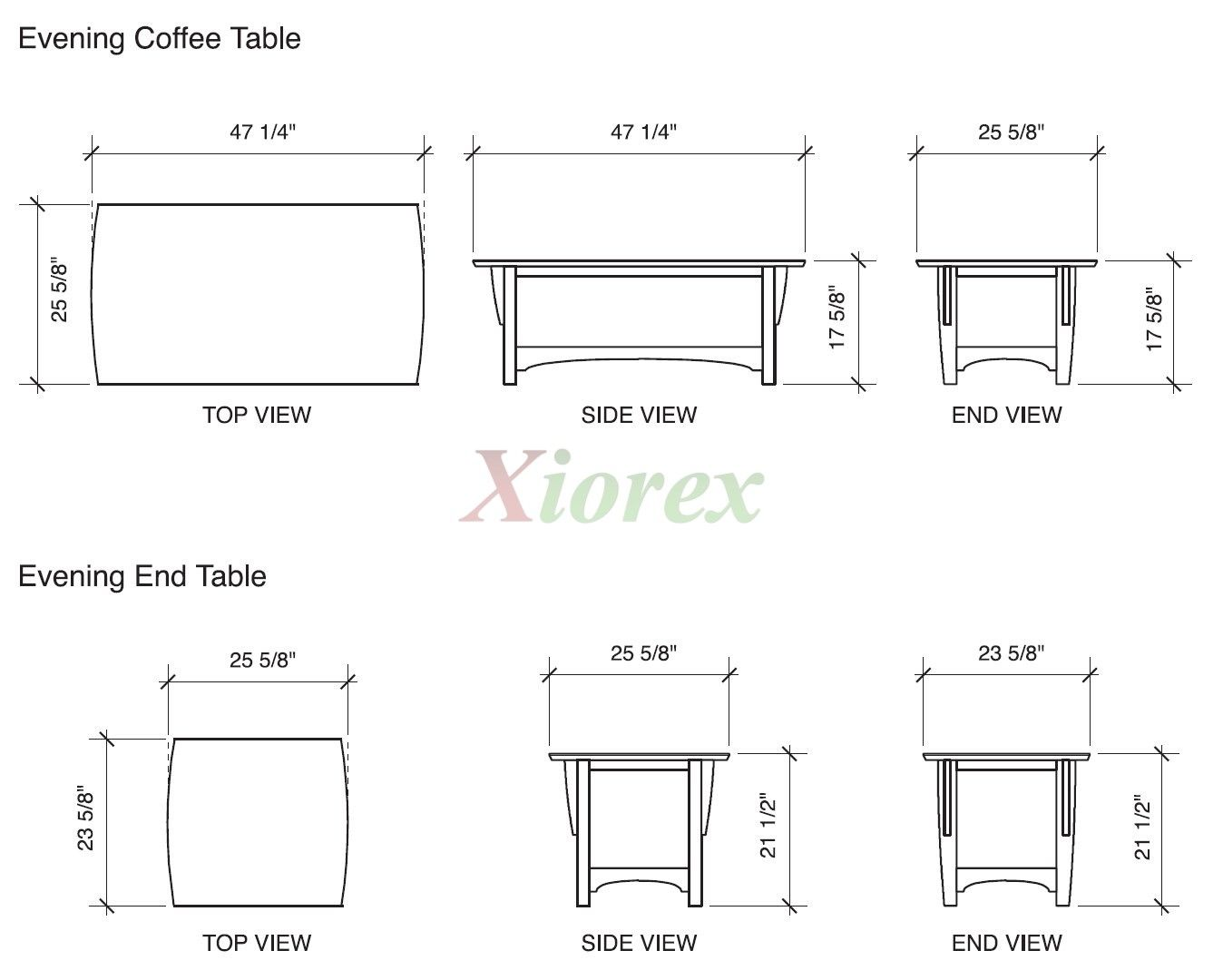 Coffee Table Dimensions 16932 Coffee Table Dimensions Coffee Table And End Table