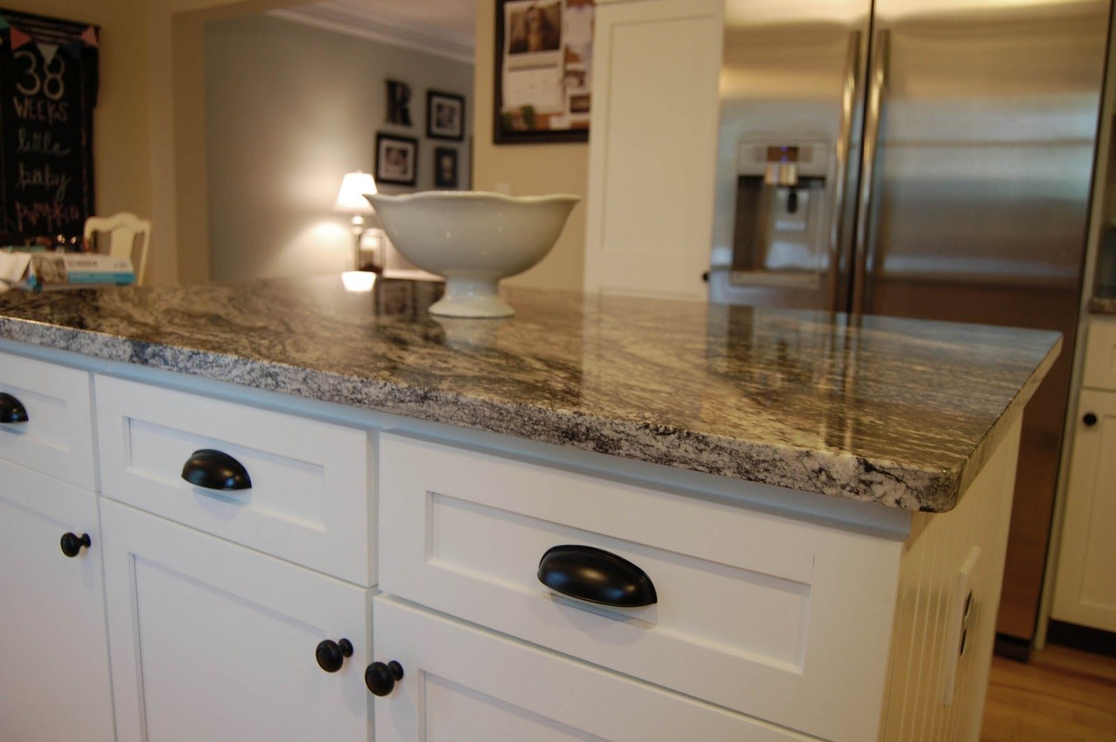 Off White Kitchen Cabinets With Brown Granite Granite Countertop Colors With White Cabinets Home Decor