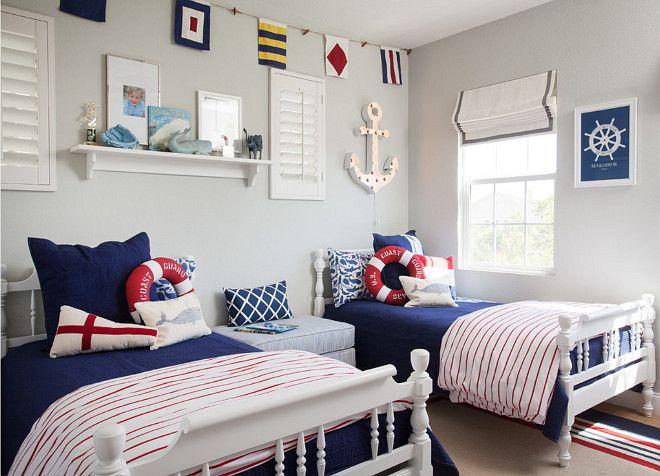 Interior Design Ideas -  - nautical bedroom ideas