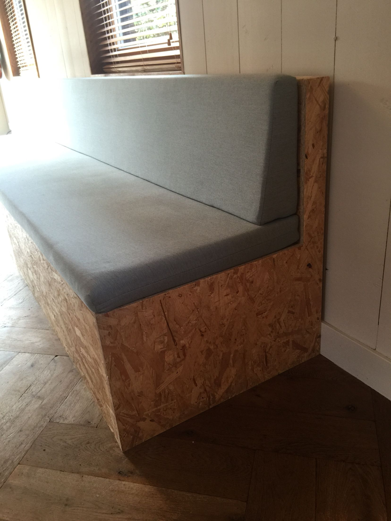 Ass Möbel Self Made Cheap Ass Osb Kitchen Couch Bench In Our Kitchen